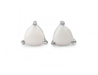 Cercei argint 925 cu opal