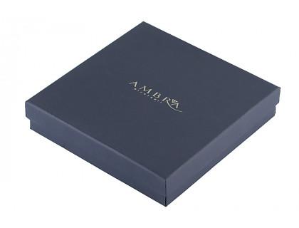 Cutie albastra pentru bijuterii