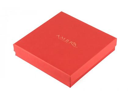 Cutie rosie pentru bijuterii
