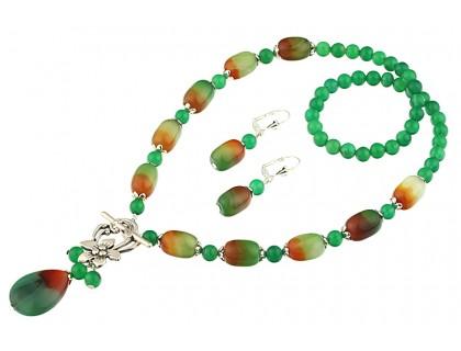 Set agat brazilian si agat verde