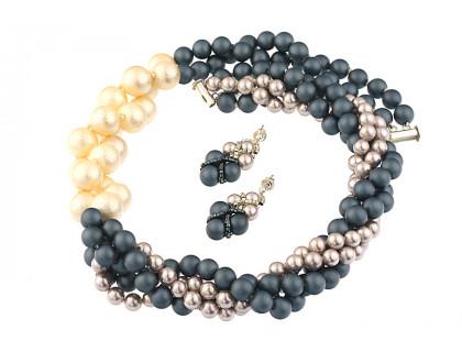 Set rasucit din perle de Mallorca