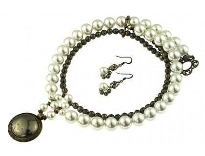 Set pirita si perle de Mallorca