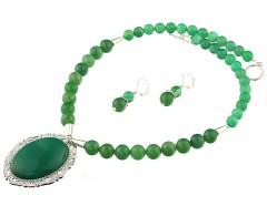 Set agat verde
