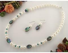 Set perle de cultura si sidef Paua-Abalon