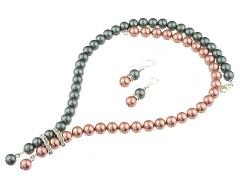 Set perle de Mallorca gri-roz