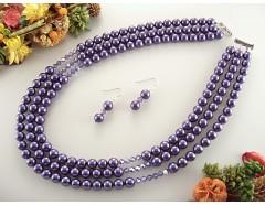 Set perle de Mallorca si cristale Swarovski