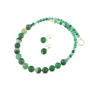 Set agat lace verde
