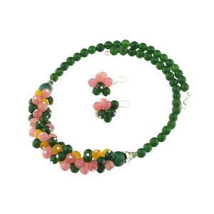 Set ciorchine din jad multicolor