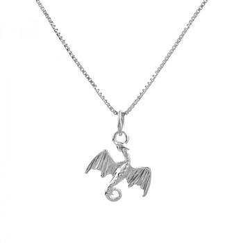 Colier din argint 'Daenerys Dragon'