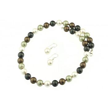 Set perle de Mallorca multicolore