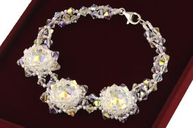 Bratara exclusivista din cristale Swarovski Aurora
