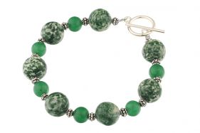 Bratara tree agat si jad verde