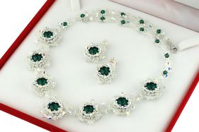 Set exclusivist din cristale Swarovski
