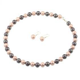 Set din perle de Mallorca si argint