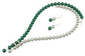 Set perle de Mallorca gri-verde