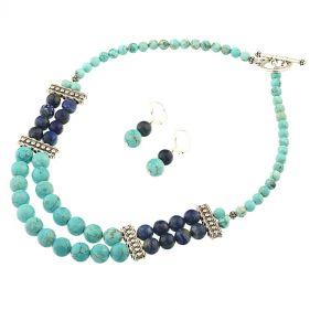 Set turcoaz si lapis lazuli